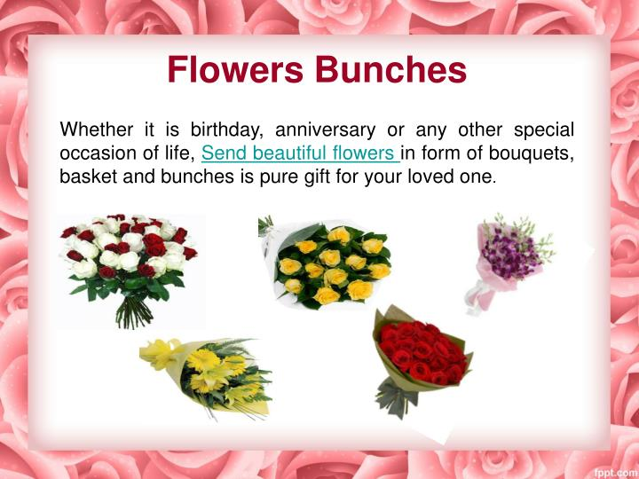 Flowers Bunches