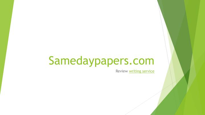 Samedaypapers com