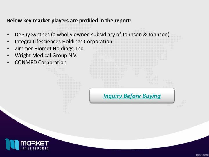 Below key market players are profiled in the report: