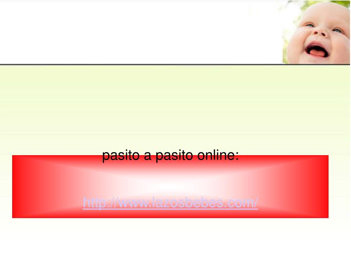 pasito a pasito online:
