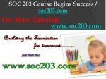 soc 203 course begins success soc203 com10