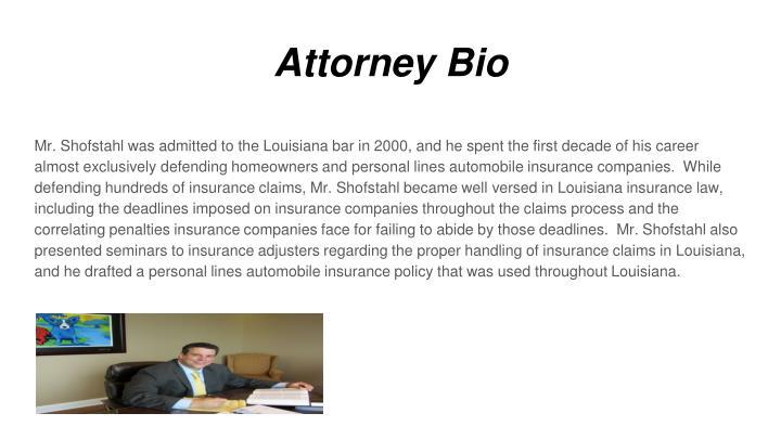 Attorney Bio