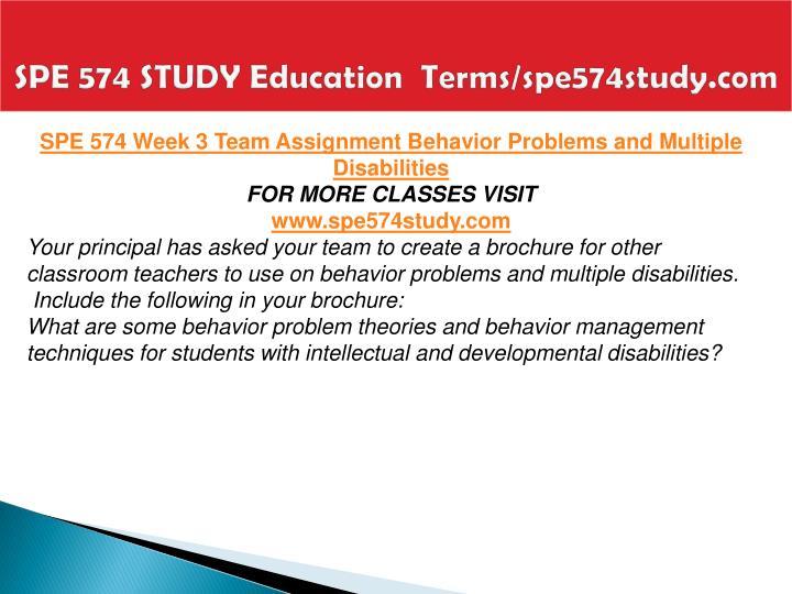 SPE 574 STUDY Education  Terms/spe574study.com