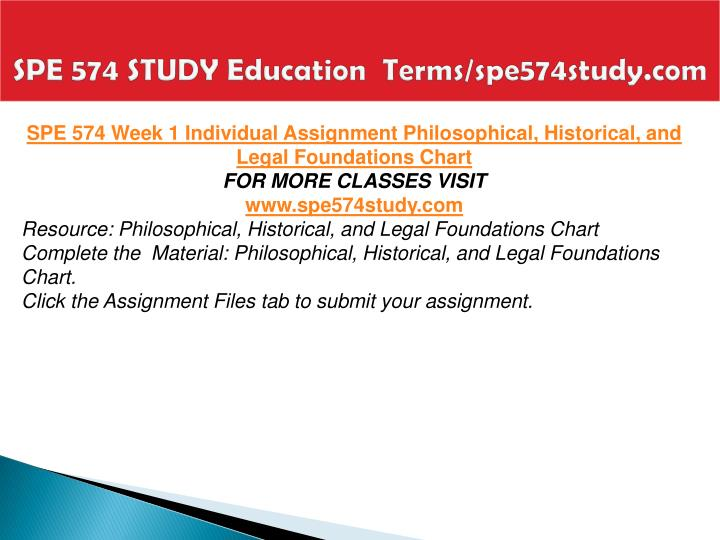 SPE 574 STUDY Education  Terms/spe574study.com