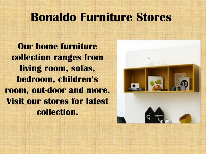 Bonaldo Furniture Stores