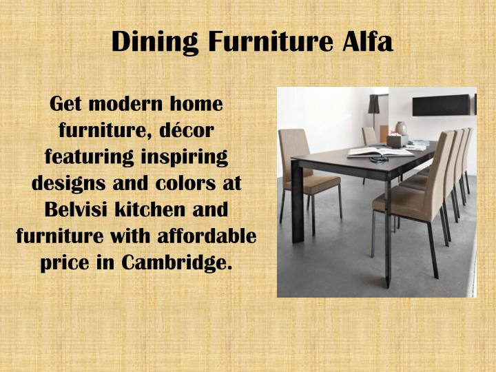 Dining furniture alfa