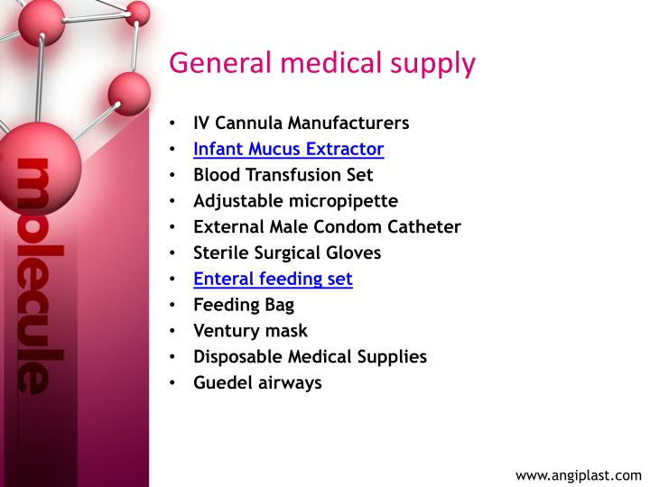 General medical supply