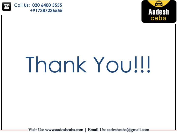 Call Us:  020 6400 5555