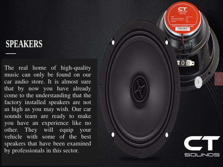 The real home of high-quality music can only be found on our car audio store. It is almost sure that by now you have already come to the understanding that the factory installed speakers are not as high as you may wish. Our car sounds team are ready to make you have an experience like no other. They will equip your vehicle with some of the best speakers that have been examined by professionals in this sector.
