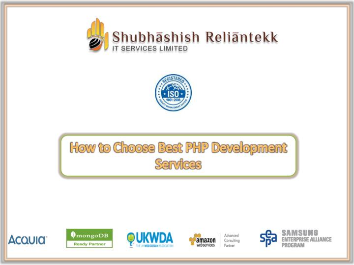 How to Choose Best PHP Development Services