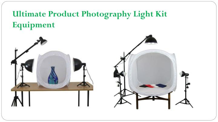 Ultimate Product Photography Light Kit Equipment