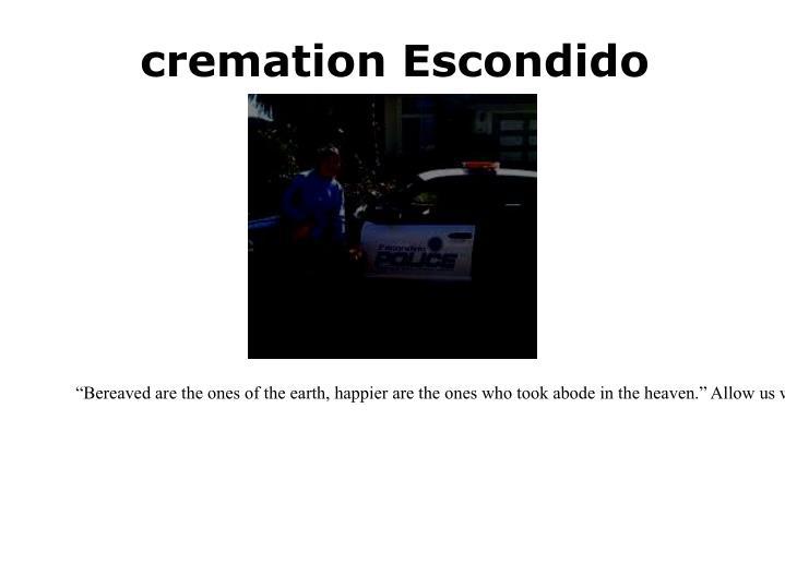 cremation Escondido