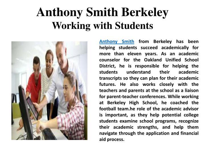 Anthony Smith Berkeley