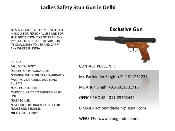 Ladies Safety Stun Gun in Delhi