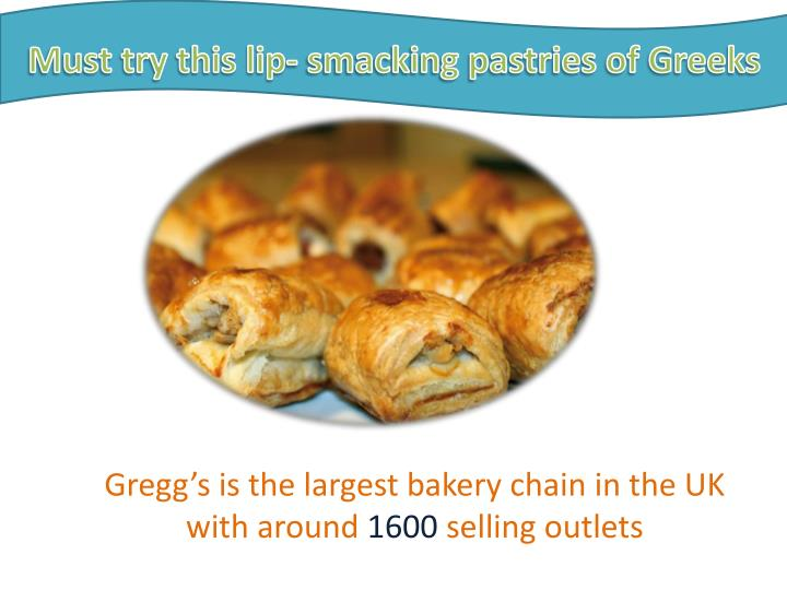 Must try this lip- smacking pastries of Greeks