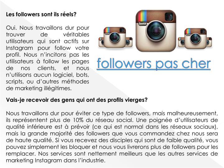 followers pas
