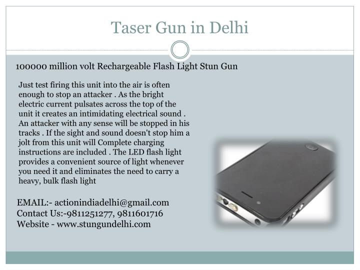 Taser Gun in Delhi