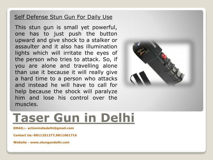 Self Defense Stun Gun For Daily Use