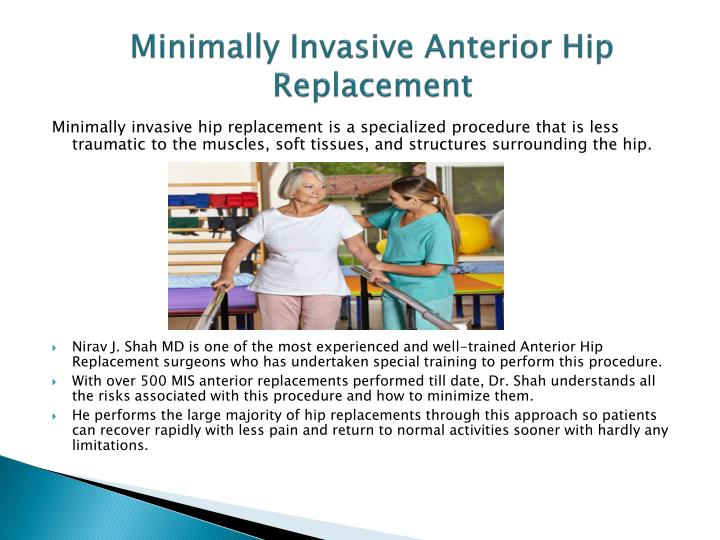 Minimally Invasive Anterior