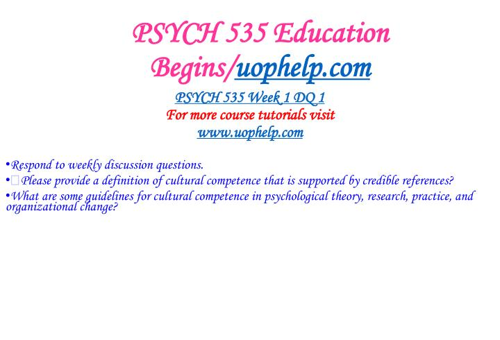 Psych 535 education begins uophelp com2
