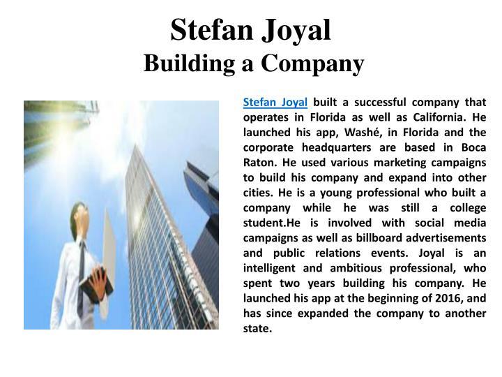 Stefan Joyal