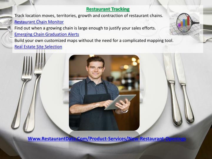 Restaurant Tracking