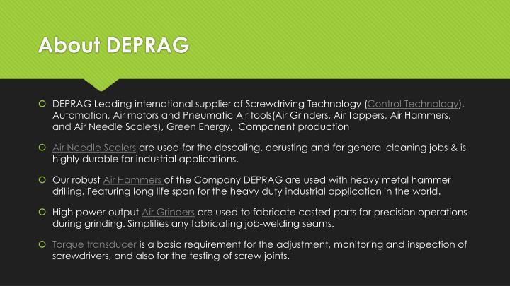 About DEPRAG