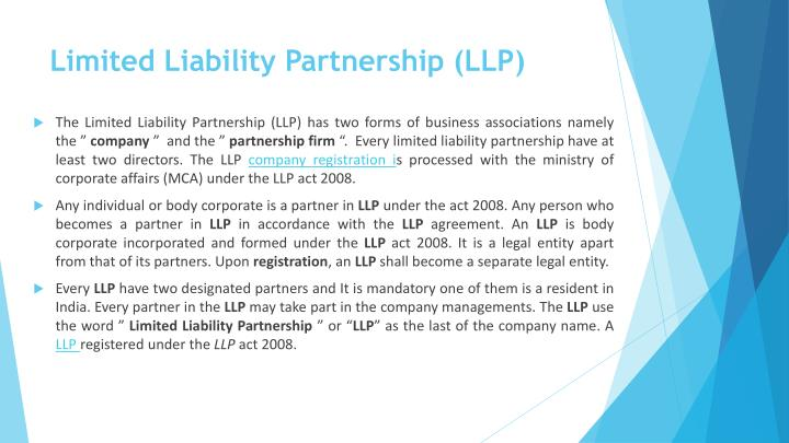 Limited Liability Partnership (LLP
