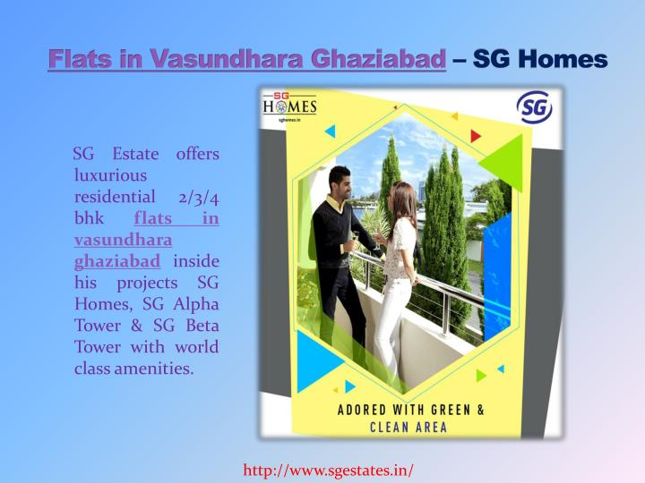 Flats inVasundhara Ghaziabad