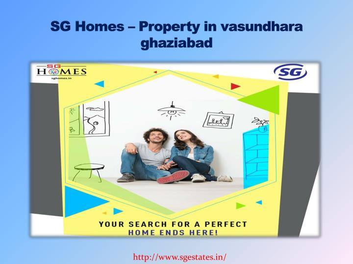 Sg homes property in vasundhara ghaziabad