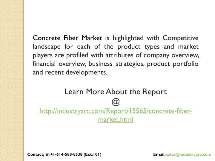 Concrete Fiber Market