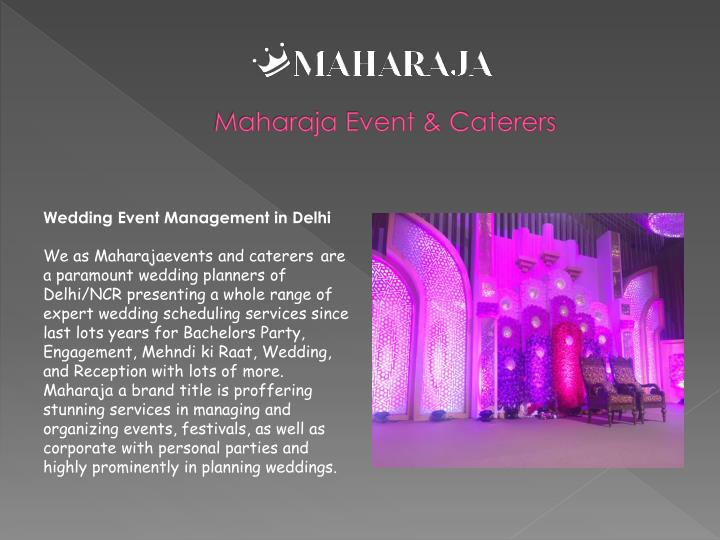 Maharaja event caterers1