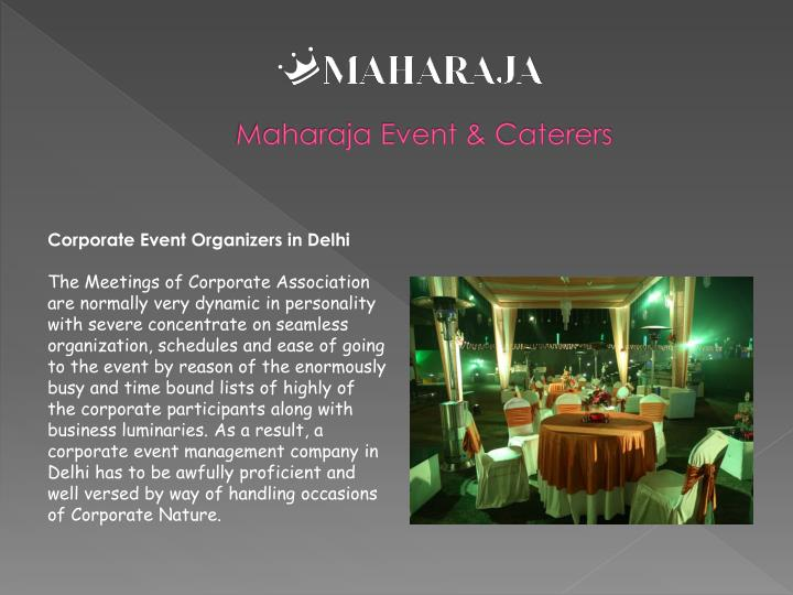 Maharaja event caterers2