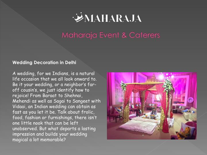 Maharaja Event & Caterers