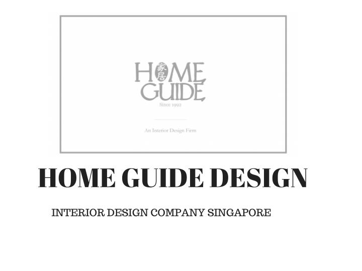 HOME GUIDE DESIGN