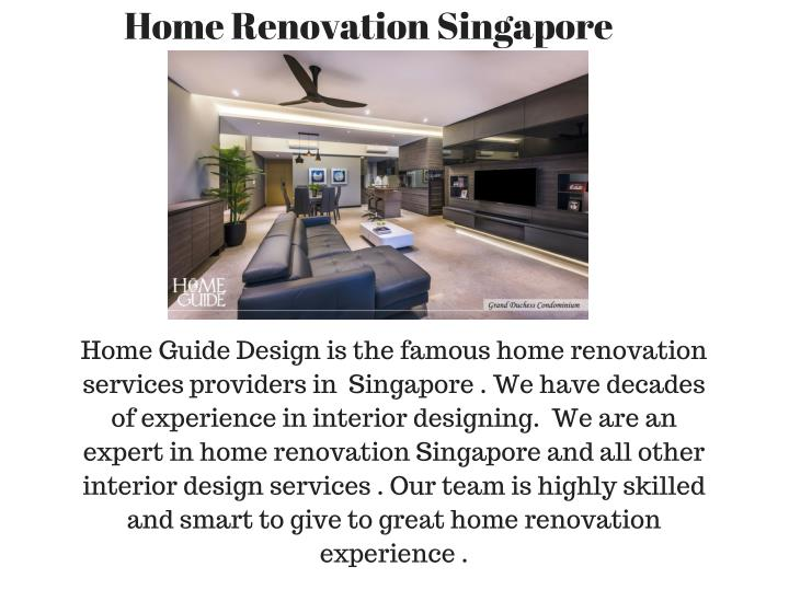 Home Renovation Singapore
