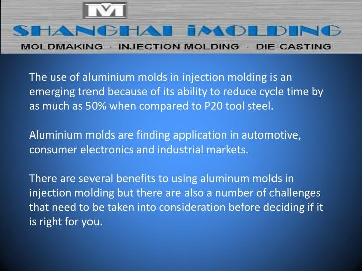 The use of aluminium