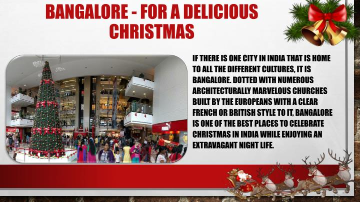 Bangalore - For a Delicious