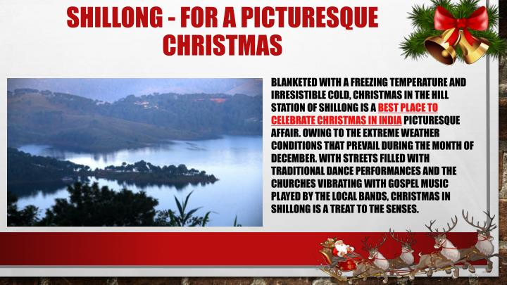 Shillong for a picturesque christmas