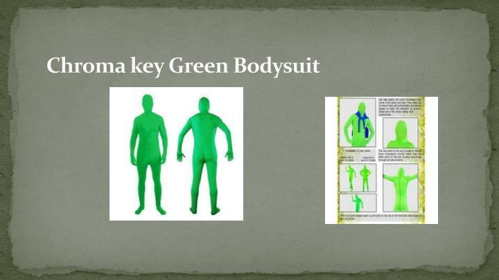 Chroma key Green Bodysuit