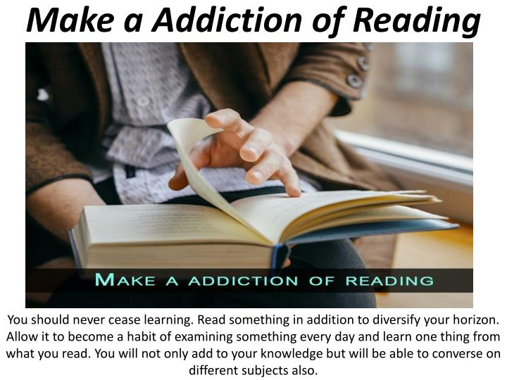 Make a Addiction of