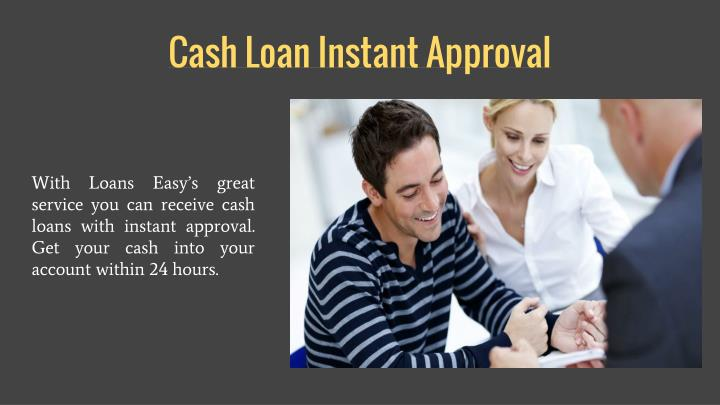 Cash Loan Instant Approval