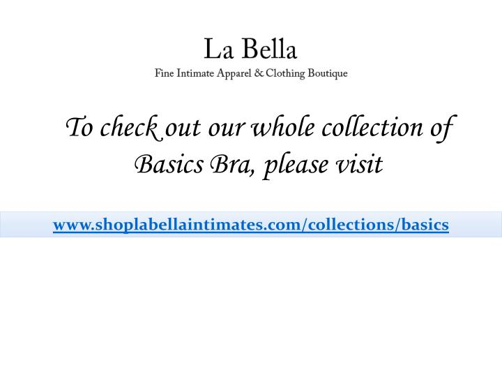 To check out our whole collection of