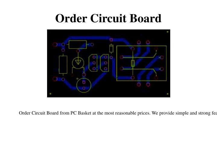 Order Circuit Board