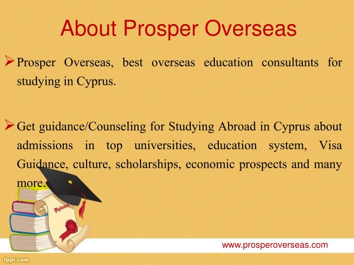 About prosper overseas