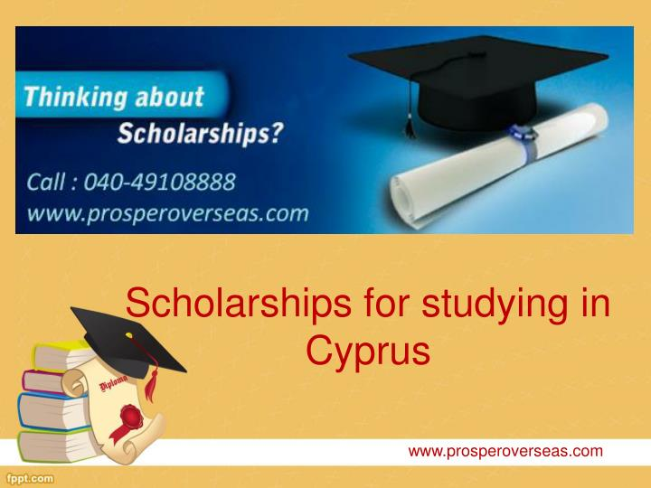Scholarships for studying in Cyprus