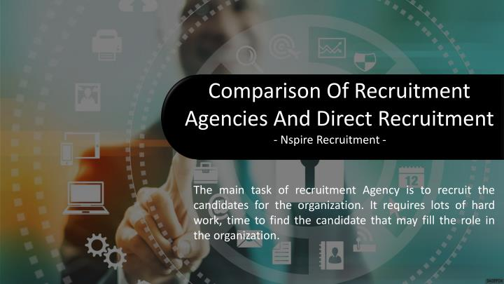 Comparison Of Recruitment Agencies And Direct Recruitment