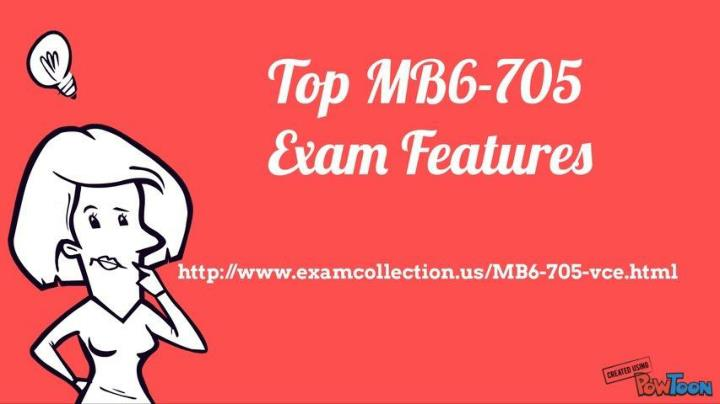Examcollection mb6 705 vce