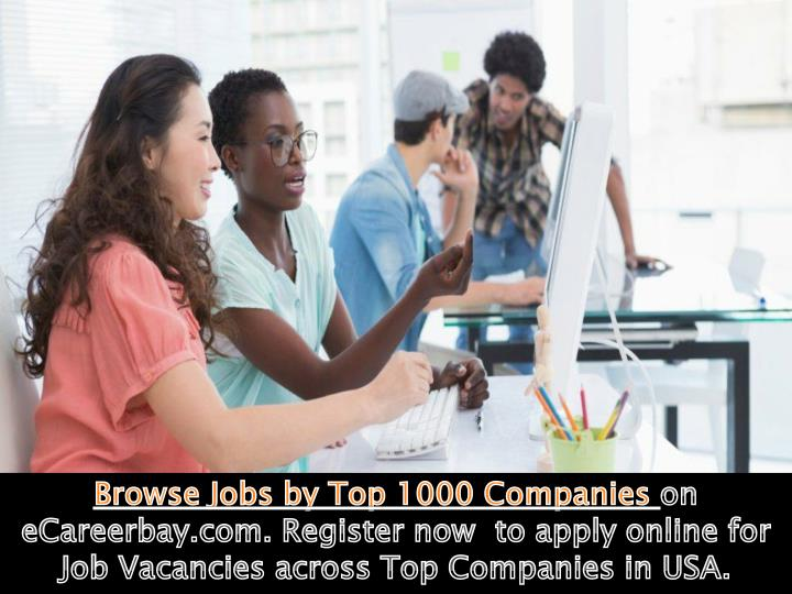 Browse Jobs by Top 1000 Companies