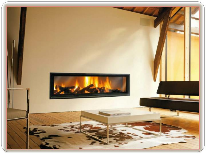 Built in fireplace add a beautiful touch to any room of your house